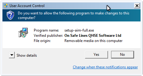 On Safe Lines QHSE Software Code Signing Certificate