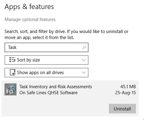 Un-install Windows 10 step 5